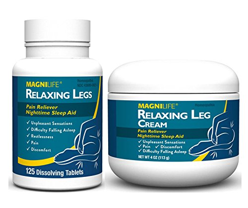 MagniLife Relaxing Leg Tablet with Cream Set - Buy Online in