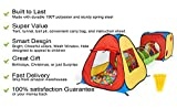 UTEX 3 in 1 Pop Up Play Tent with Tunnel, Ball