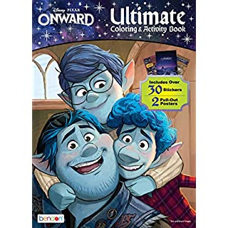 Disney Onward 48-Page Coloring and Activity Poster Book 46653