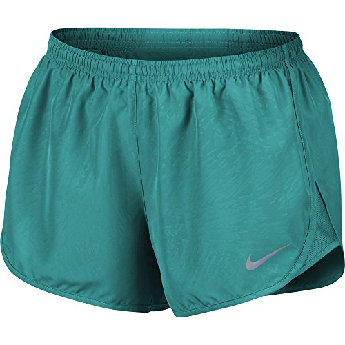 Women Dry Modern Tempo Running Short Size X-Large Turbo Green