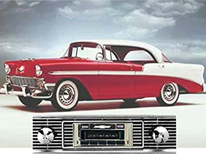 Amazon Custom Autosound Stereo Compatible With 1956 Chevy Bel