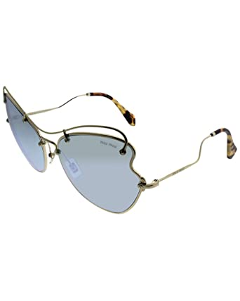 b61008c1f817 Image Unavailable. Image not available for. Color  Miu Miu Womens Women s  Cat-Eye 61Mm Sunglasses