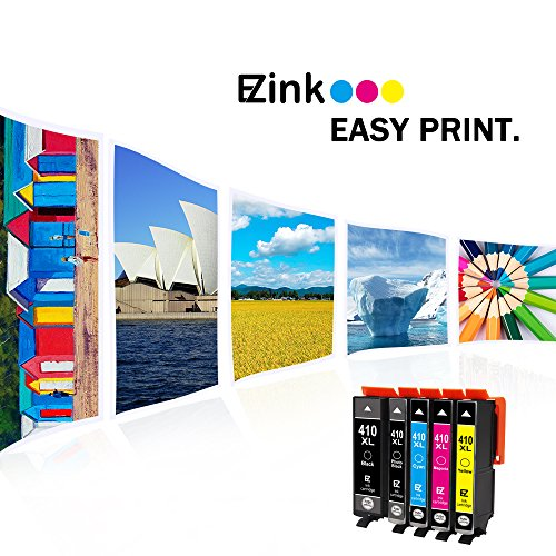 E-Z Ink (TM) Remanufactured Ink Cartridge Replacement for Epson 410XL 410 XL to use with Expression XP-530 XP-630 XP-635 XP-640 XP-830 (1 Black, 1 Cyan, 1 Magenta, 1 Yellow, 1 Photo Black) 5 Pack by E-Z Ink (Image #6)
