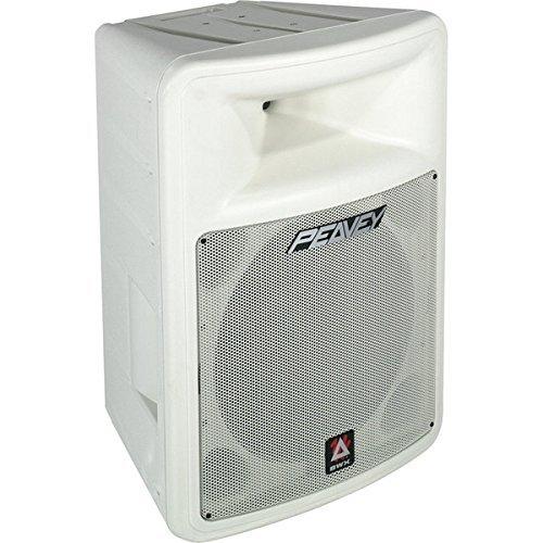 Peavey IMPULSE1015WHITE Impulse 1015 8 Ω 15'' Weather Resistant 2-Way Loudspeaker, Single, White