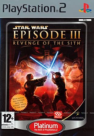 Star Wars Episode Iii Revenge Of The Sith Platinum Ps2 Star Wars Episode Iii Amazon Co Uk Pc Video Games