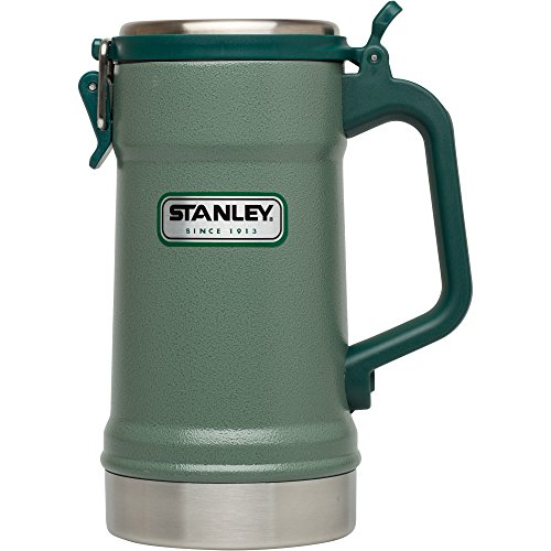 Stanley Classic Vacuum Insulated Stein 24 oz, Hammertone Green (Vacuum Stanley Classic Bottle)