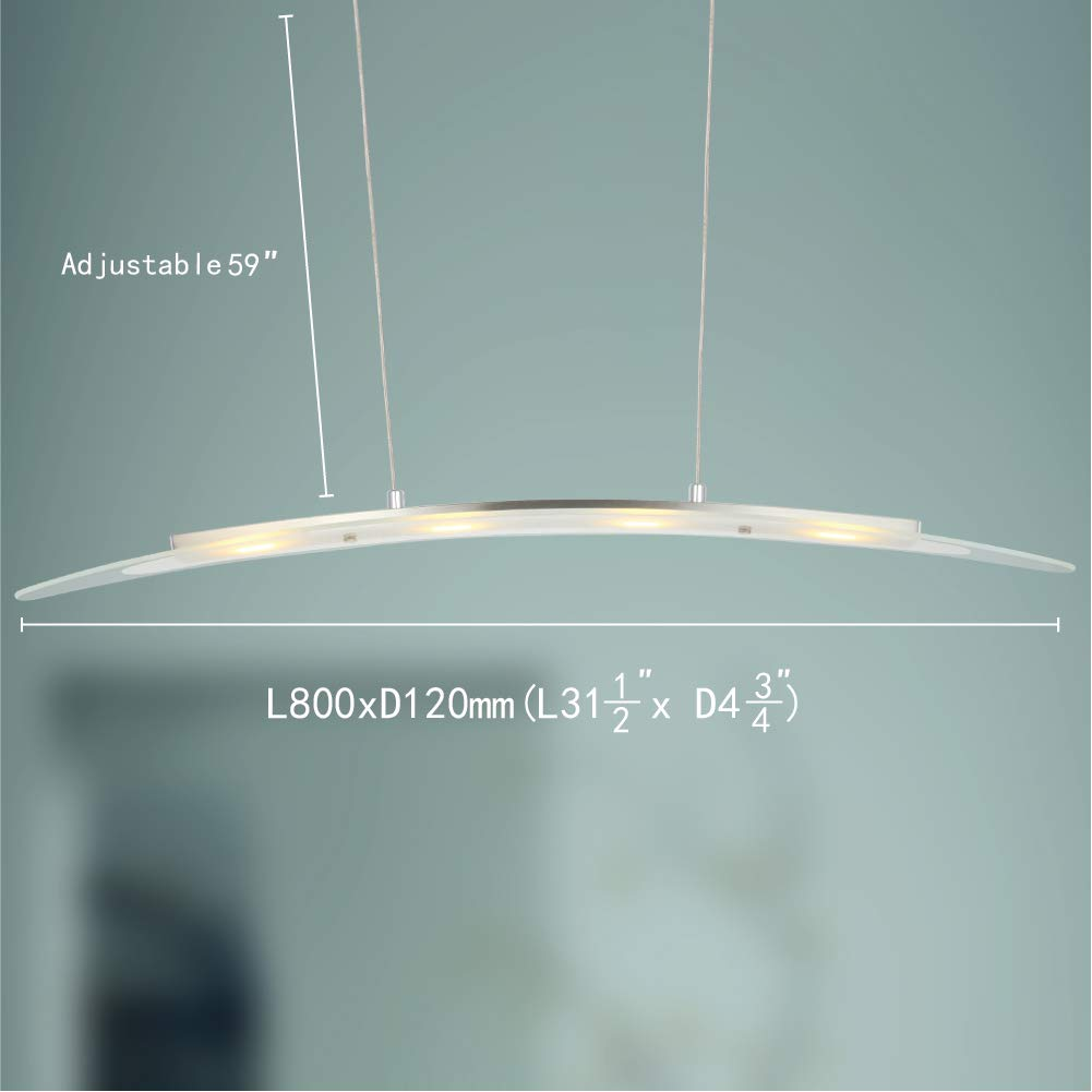 Foshan Mingze Stylish Contemporary Led Pendant Light With Adjustable Fluorescent Lighting Fixtures On Wiring In Series Height Chrome Finished Chandelier Ceiling Fixture For Dining Room Kitchen