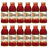 Tejava Unsweetened Iced Tea, Peach, 16.9oz PET Bottles, Award Winning, Non-GMO-Verified, from Rainforest Alliance-Certified farms (12 Pack)