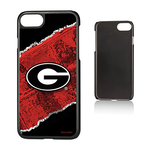 Keyscaper Georgia Bulldogs Slim Case for the iPhone 6/6S/7/8 NCAA (Iphone 6 Cases Georgia)