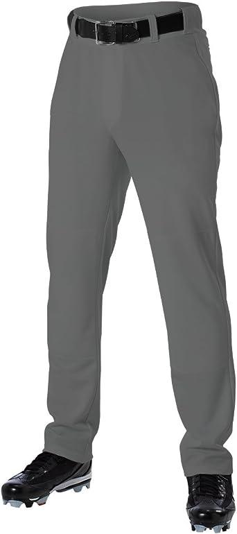 NWT Mens Alleson Chromagear Wide Leg Baseball Pants Black /& Red /& White Size Lrg