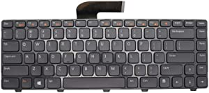 New Keyboard Replacement for Dell Inspiron N4050 N4110 14 3420 14R 5420 15 3520 15R 5520 VOSTRO 1440 1450 1550 3350 3450 3550 3555 3560 with Backlit Black