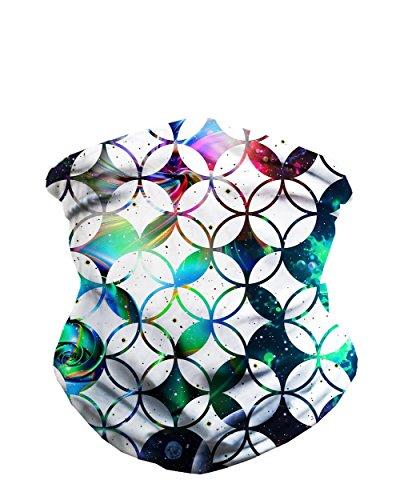 INTO THE AM Kaleidoscope Seamless Mask Bandana