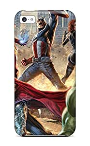 New The Avengers 92 Tpu Case Cover, Anti-scratch LuReaYd8261qKqJy Phone Case For Iphone 5c