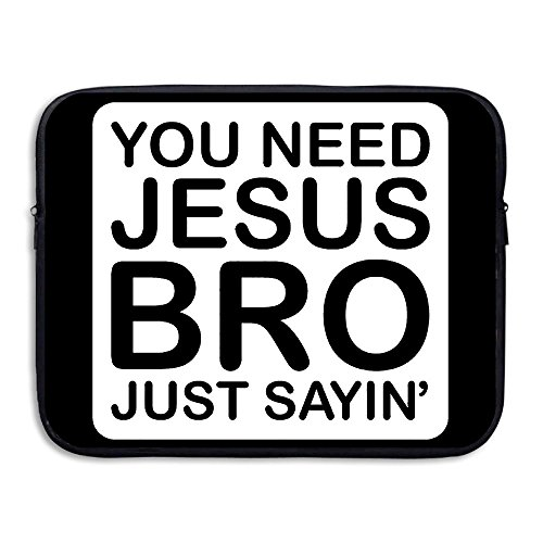 BANA Custom You Need Jesus Shock-Resistant Laptop Carrying Case 13 Inch - Custom Dance Costumes Houston