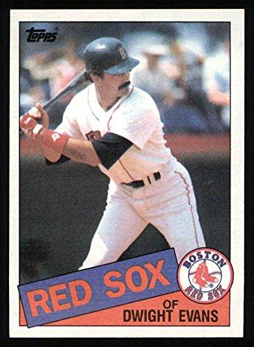 1985 Topps # 580 Dwight Evans Boston Red Sox (Baseball Card) Dean