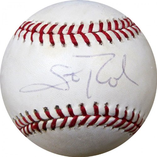 - Scott Rolen Autographed Game Used Baseball