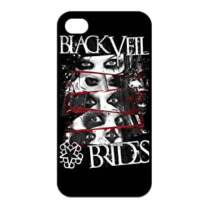 FashionFollower Custom BVB Series Black Veil Brides Best Phone Case Suitable For iphone4/4s IP4WN61802