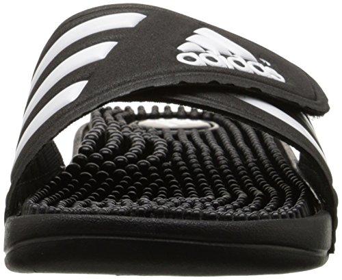 Adidas Originali Da Donna Adissage W Sandalo Scorrevole Nero / Nero / Bianco