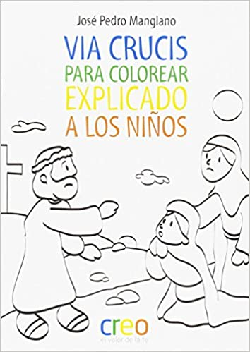 Via Crucis para colorear: 9788494336058: Amazon.com: Books