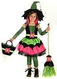 Big Girls' Spiderina Witch Costume