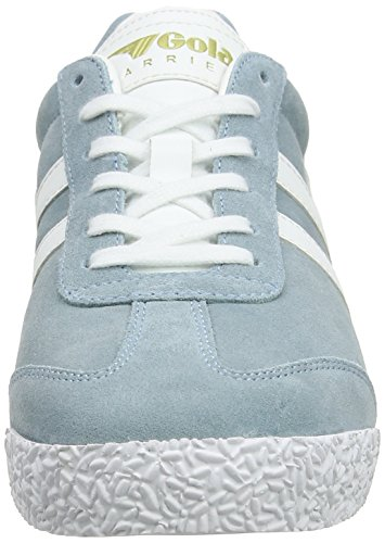 Gola Women Harrier Suede Trainers Blue (Sky Blue/White Lw)