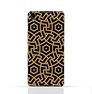 Blackberry Dtek 50 TPU Silicone Case With Morocco Traditional Arabic Pattern
