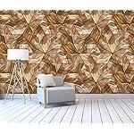 LIWALLPAPER-Carta-Da-Parati-3D-Fotomurali-Marrone-Geometrico-A-Grana-Di-Legno-Astratta-Camera-da-Letto-Decorazione-da-Muro-XXL-Poster-Design-Carta-per-pareti-200cmx140cm
