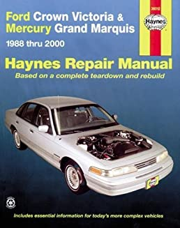 ford crown victoria mercury marquis 1988 thru 2011 haynes repair rh amazon com Mercury Marauder Difference Marquise Hot Wheels Mercury Marauder