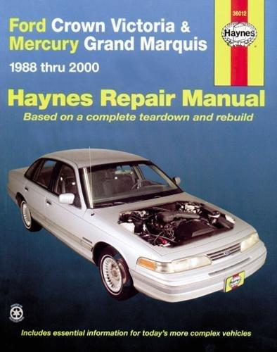 Ford Crown Victoria & Mercury Marquis: 1988 thru 2011 (Haynes Repair ()