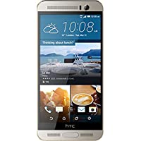 HTC One M9+ - 32GB, 3GB RAM, 4G LTE, WiFi, Gold on Silver (4718487671373)