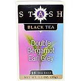 Double Bergamot Earl Grey Tea, 18 Bags by Stash Tea (Pack of 2)