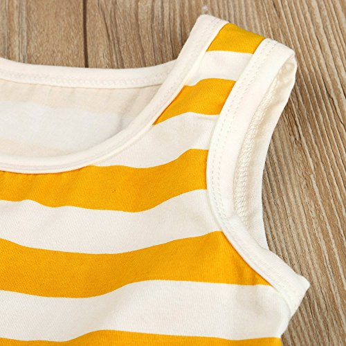 Palarn Stylish Toddler Jumpsuit, Baby Boys&Girls Striped Sleeveless Cute Romper Outfits Clothes by Palarn (Image #8)