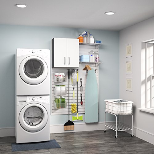 Flow Wall Systems Flow Wall White 1 Piece Laundry Cabinet Set By Flow Wall  Systems