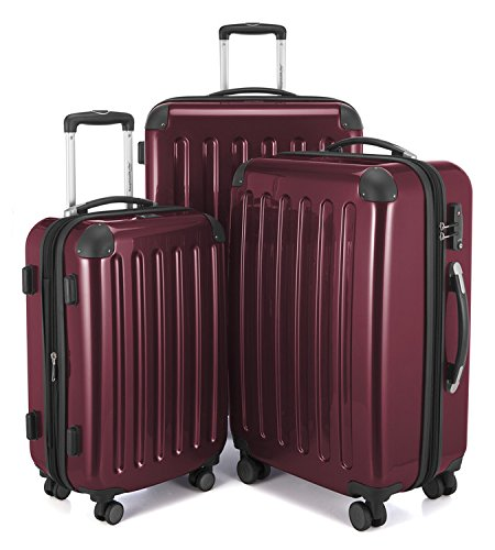 "HAUPTSTADTKOFFER Luggages Sets Glossy Suitcase Sets Hardside Spinner Trolley Expandable (20"", 24""..."