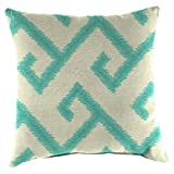 Jordan Manufacturing Acrylic Fabric Patterned Toss Pillows - Set of 2