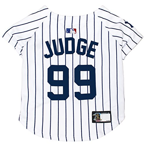 MLBPA Dog Jersey - Aaron Judge #99 Pet Jersey - MLB New York Yankees Mesh Jersey, Medium