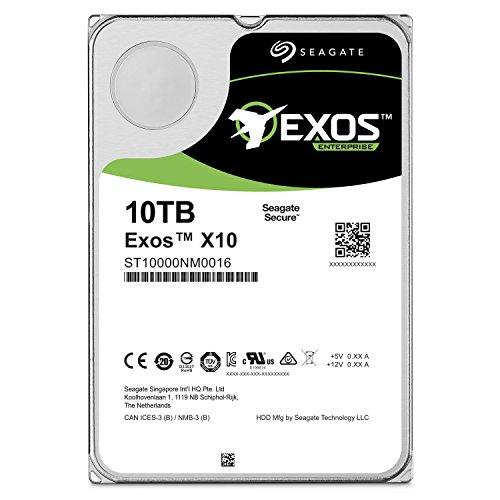 Seagate Enterprise Capacity 3.5 HDD 10TB (Helium) 7200RPM SATA 6Gb/s 256 MB CacheInternal Bare Drive (ST10000NM0016) by Seagate (Image #2)