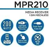 JENSEN MPR210 7 Character LCD Multimedia Single DIN