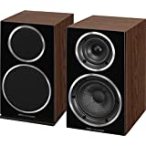 Wharfedale Diamond 220 - Altavoces (Speaker set unit, De 2 vías, Mesa/estante, 56 - 20000 Hz, 8 Ohmio, 86 Db) Nuez