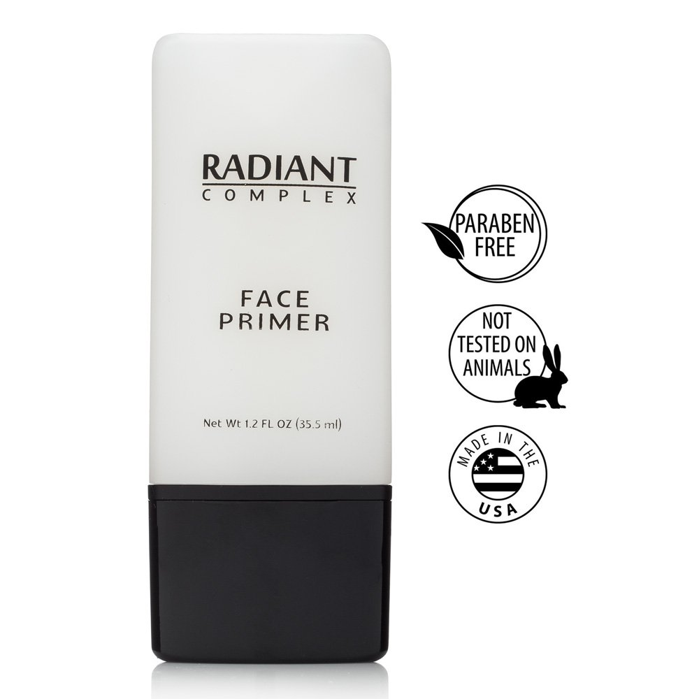 Radiant Complex Face Primer - Flawless Base for Foundation and Makeup -1.2 Fl Oz