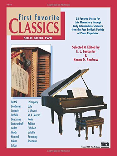 First Favorite Classics, Bk 2: Solo
