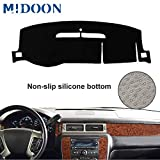 MIDOON Board Cover Pad Carpet Car Dashboard Cover Dash Mat Dash Pad DashMat (For Chevrolet Suburban Tahoe Avalanche Silverado GMC Yukon Sierra 2007-2013)