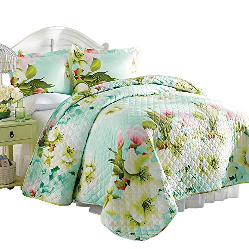 Bits and Pieces - Magnolia Blooms Quilt King Set - 101