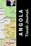 Angola Travel Journal (Map-themed Travel Diaries)