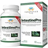 IntestinePro 10-Day Intestine Cleanse for Humans with NON-GMO Wormwood, Black Walnut, Goldenseal, Echinacea + 14 Premium Ingredients, 1485mg, 30 servings