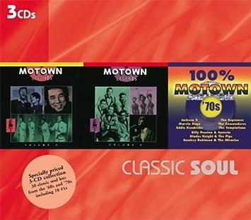 Classic Soul - Classic Soul: Motown Legends 4-5 / 100% Motown 70s