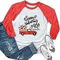 FAYALEQ Happy Valentines Y'all Raglan Long Sleeve Baseball T Shirt Women Funny Top Tees