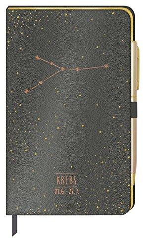 Notizbuch - Krebs Tageskalender – 16. Januar 2018 Coppenrath B077Y6Q2Q6 Advent / Geschenkband Astrologie / Sternzeichen