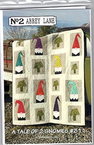 A Tale of 2 Gnomes Quilt Pattern by No. 2 Abbey Lane #311 60