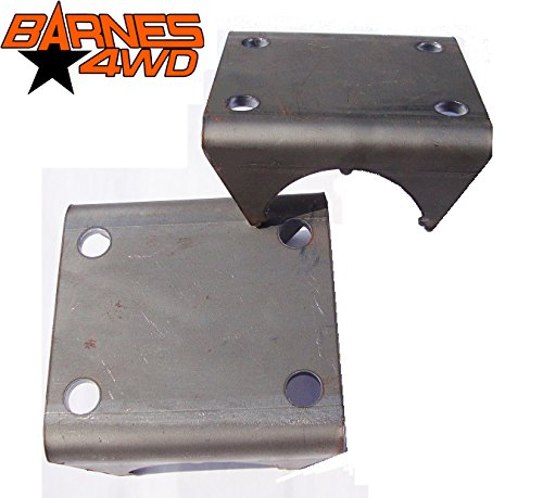 SPRING UNDER AXLE SUA U BOLT PLATE PAIR Barnes 4WD